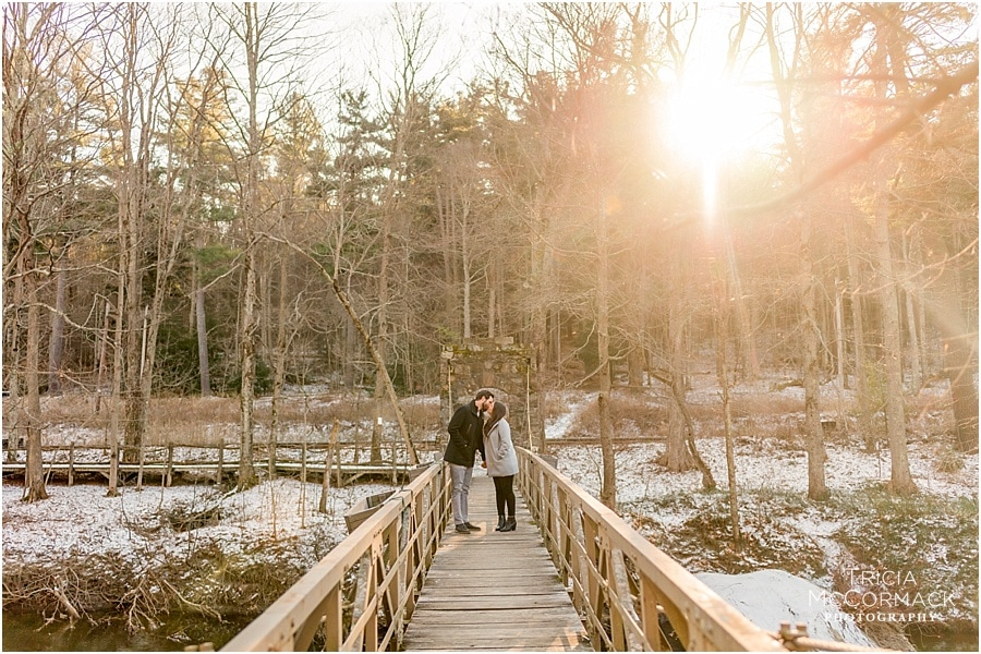HALEY AND DERRICK'S WINTER ENGAGEMENT SESSION