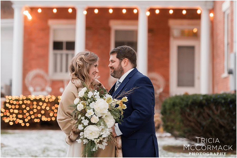 CARA & CHRIS' INTIMATE  FEDERAL HOUSE INN WINTER WEDDING