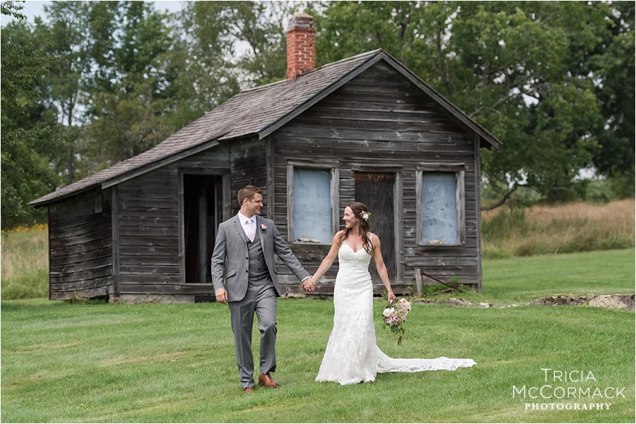 STEPHANIE AND JAMES' GEDNEY FARM WEDDING