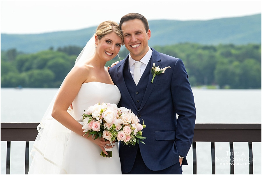 MAGGIE AND MATT'S LAKESIDE WEDDING