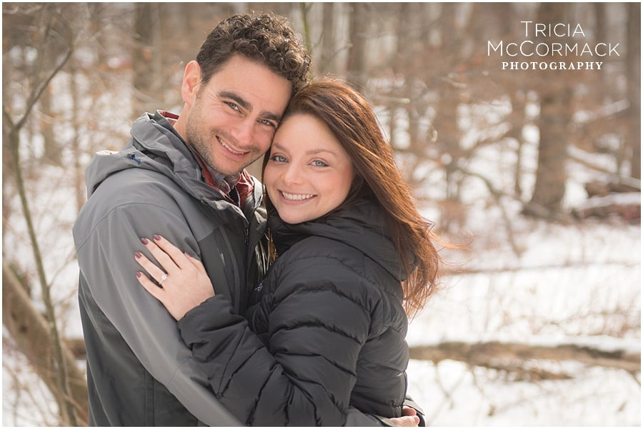 GABI & SETH'S WINTER ENGAGEMENT SESSION