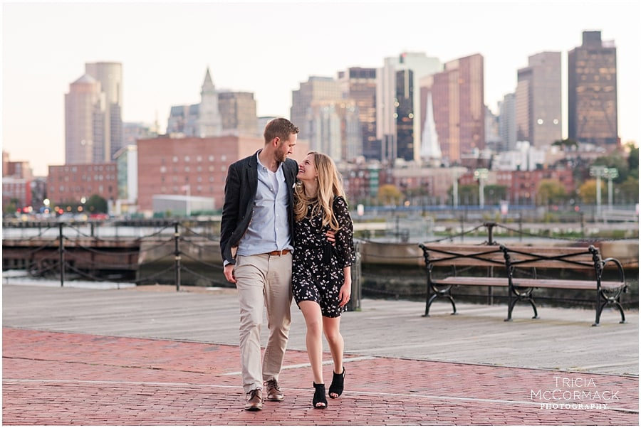 Lauren and Alex's Charlestown Engagement