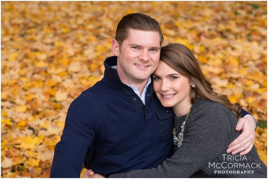 ASHLEY & ANDREW'S OCTOBER ENGAGEMENT SESSION